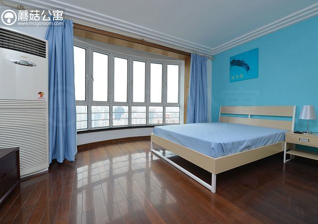 虹口区-虹口现代公寓-四居室-西南卧-16.8㎡