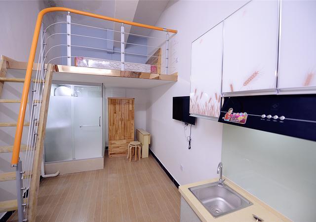 宝山区-叠加公寓-1室0厅1卫-16㎡