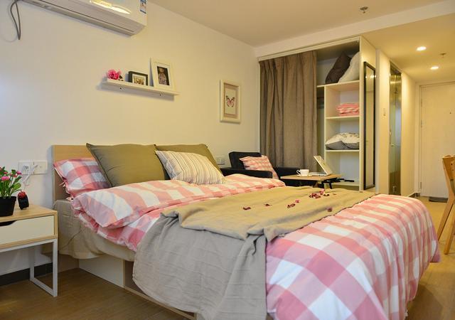 虹口区-魔方公寓上海大柏树店-1室1厅1卫-30㎡