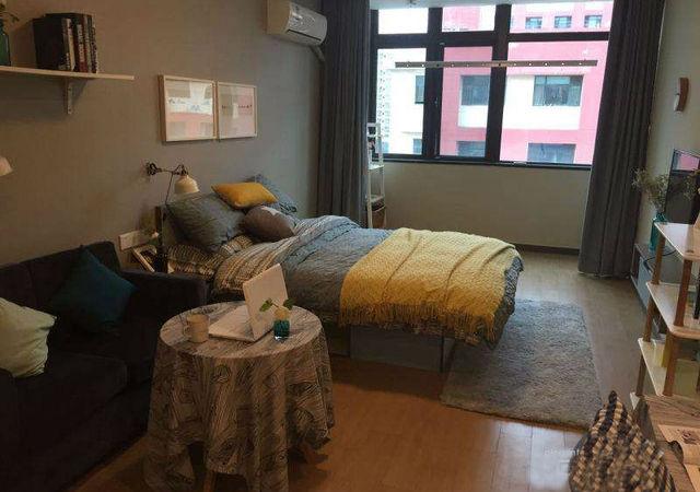 浦东新区-魔方公寓上海塘桥店-1室1厅1卫-30㎡