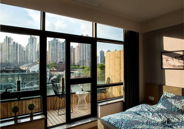 静安区-城家公寓上海火车站苏河一号店-1室0厅1卫-33.0㎡