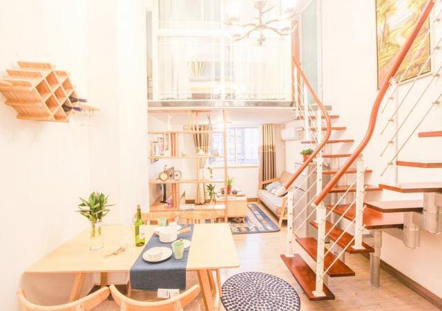 静安区-铂客公寓(大悦城店)-2室2厅1卫-80㎡