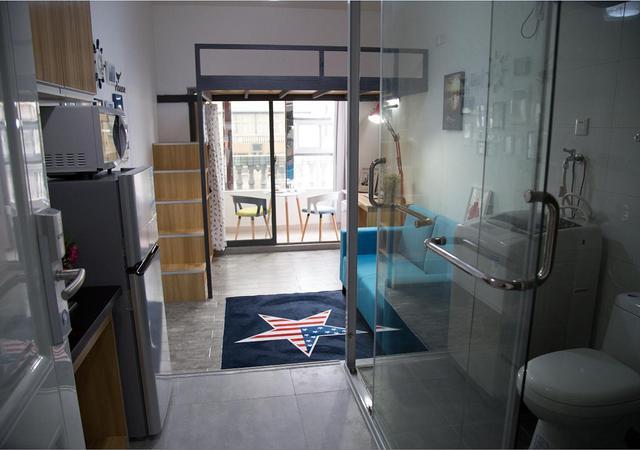 松江区-途蜗公寓-1室1厅1卫-25.0㎡