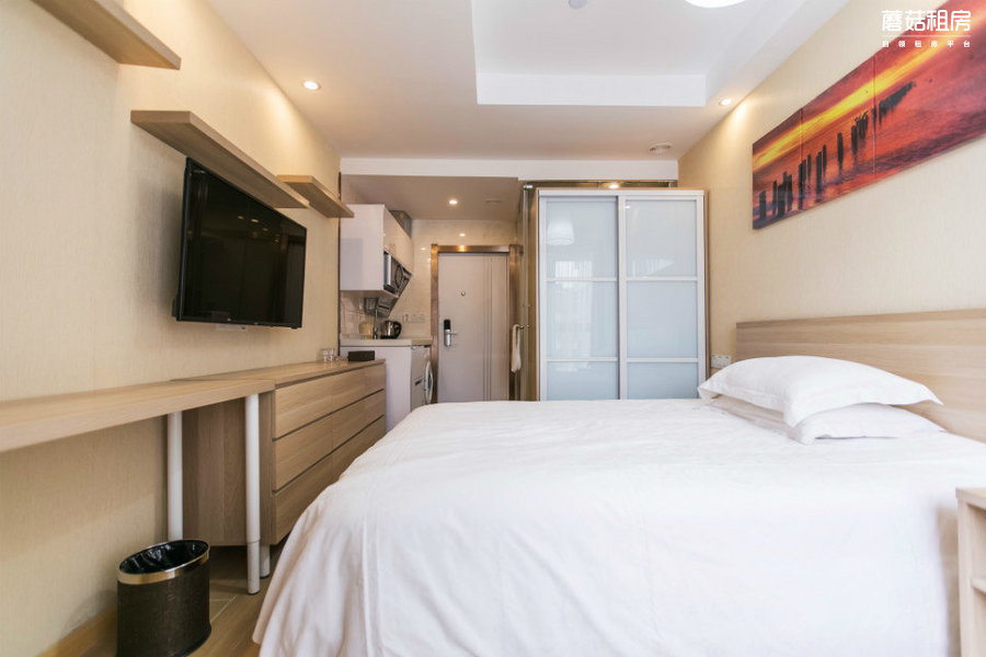 嘉定区-索纳特酒店公寓(曹安店)-1室0厅1卫-22.0㎡