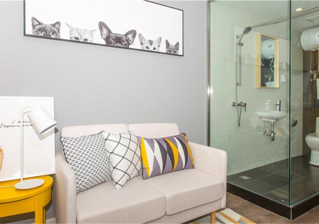 浦东新区-V领地公寓锦绣东路社区-1室1厅1卫-36.5㎡
