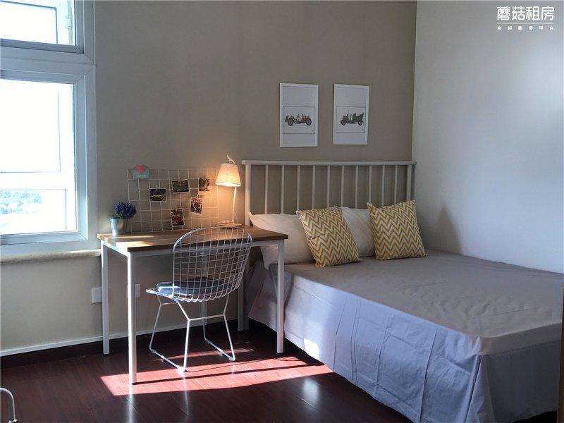 通州区-京贸国际公寓-四居室-西南卧-RoomB-19.0㎡