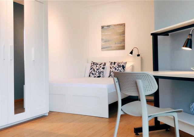 徐汇区-实业公寓-四居室-西卧-23㎡