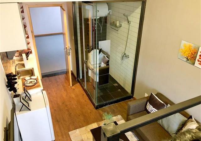 浦东新区-V领地公寓浦东北路社区-1室0厅1卫-25.1㎡