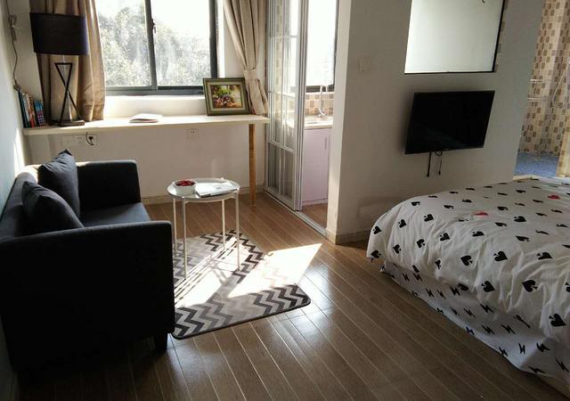 浦东新区-住家公寓-1室1厅1卫-35㎡