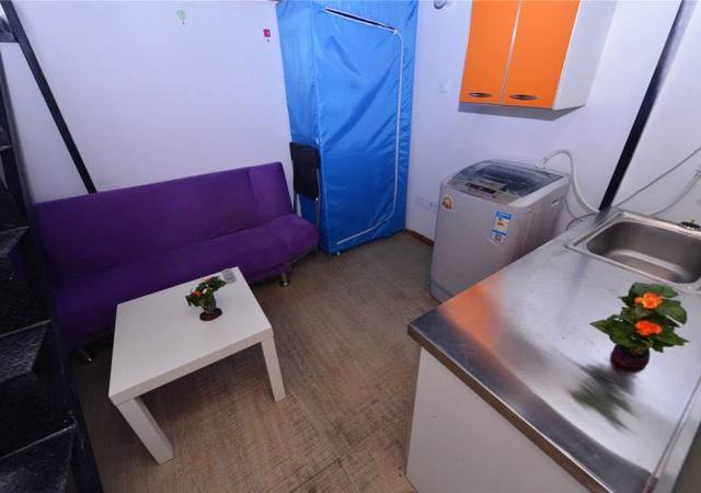 浦东新区-橙家国际青年公寓-1室0厅1卫-15㎡