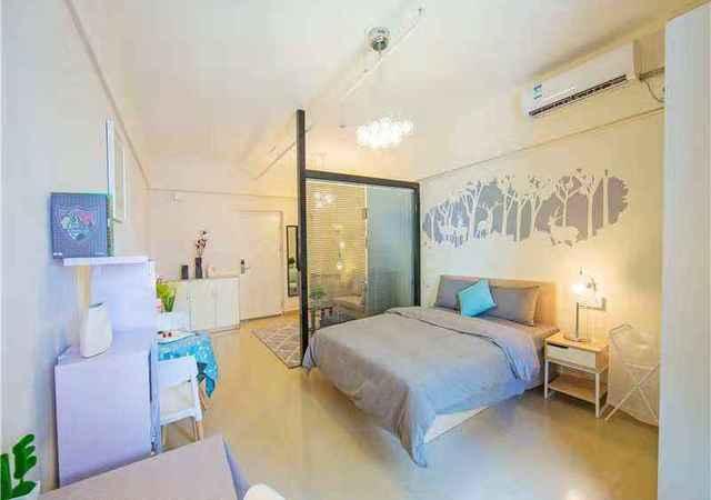 龙岗区-金竹公寓-1室1厅1卫-45㎡